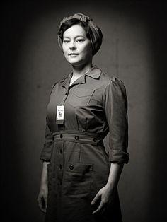 Meg Tilly as Lorna Corbett in Bomb Girls