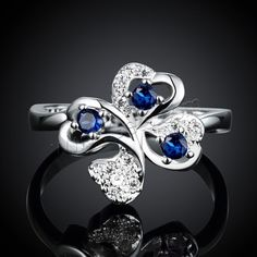Nice #Finger #Ring, Four Leaf Clover, different size and more colors.