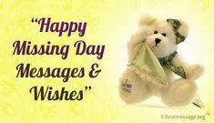 Happy Missing Day 2019 Messages Send Happy Missing Day Images Quotes SMS, Miss you Greetings Cards, Anti Valentine Week 2019 Best Valentine Message, Valentine Wishes, Valentines Day Messages, Happy Valentines Day, Missing Someone You Love, Missing You Quotes, Wish You Are Here, Miss You Message, Day Wishes