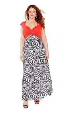 IGIGI Women's Plus Size Brandi Maxi Dress in Coral >>> Wow! Check it out now! : Plus size fashion Fat Girl Fashion, Curvy Fashion, Plus Size Fashion, Fashion Outfits, Big Fashion, Cute Dress Outfits, Cute Dresses, Casual Dresses, Women's Dresses