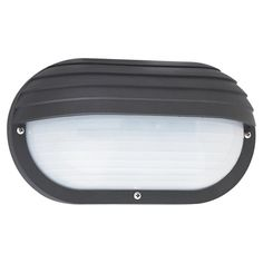 Bayside Black Energy Star Fluorescent Outdoor Bulkhead Wall Fixture Sea Gull Lighting Wall