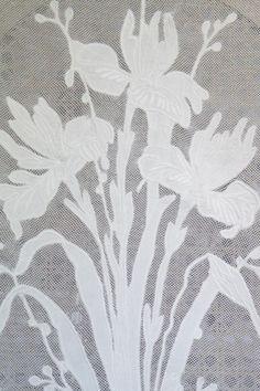 cantonni res fronces en voile de lin standard et sur mesure cantonni re de 50 cm de hauteur et. Black Bedroom Furniture Sets. Home Design Ideas