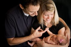 Picture perfect newborn family photography