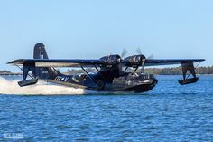 PBY Catalina Uncle Buddy was a tail gunner on this aircraft, WW II. Amphibious Aircraft, Navy Aircraft, Aircraft Photos, Ww2 Aircraft, Military Aircraft, Sea Plane, Float Plane, Royal Australian Air Force, Old Planes