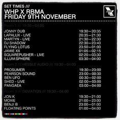Massive lineup at Warehouse Project, Manchester UK tonight!! @Illumsphere @flyinglotus @DJSHADOW @alice_moxie  @_benjib