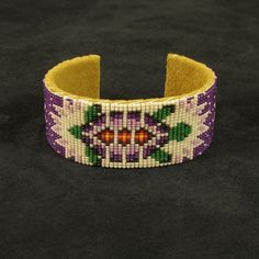 Native American Beaded Bracelets   Beaded Native American turtle bracelet   Beadwork