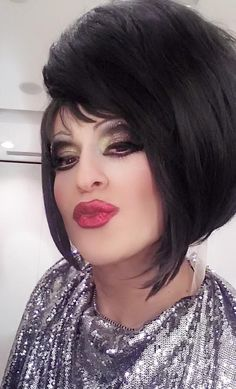 Drag queen make-up - Workshop Stefania D'Alessandro make-up Roma