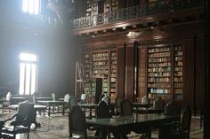 Reading room, El Capitolio, Havana
