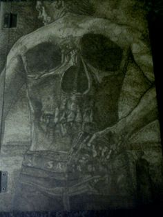 Sons of Anarchy woodburning