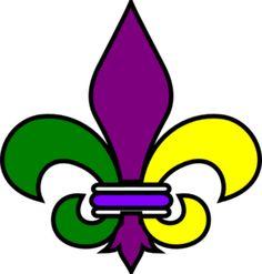 #New Orleans Fleur De Lis clip art - vector clip art online, royalty free