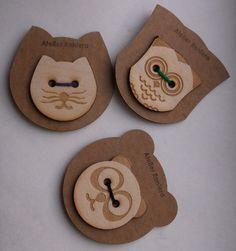 Wooden Button 5 cm Diameter Lasercut by AtelierRaniera on Etsy, $4.00