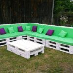 Wood Pallet Outdoor Couch