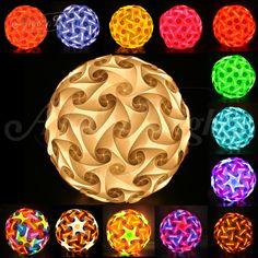 GaiaShine 120 elements Jigsaw/Puzzle/IQ Lamp Lampshade DIY Game US #GaiaShineLightingDecor #ArtDeco