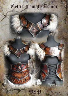 Yes Female Armor, Female Viking Costume, Celtic Costume, Female Cosplay, Warrior Costume, Cosplay Armor, Female Knight, Cosplay Dress, Fantasias Halloween