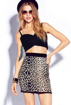 FOREVER 21 Daring Cutout Crop Top on shopstyle.com