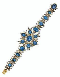 Bid in-person or online for the upcoming auction:Magnificent Jewels on 11 December 2019 at New York Bracelet Box, Jewelry Bracelets, Jewlery, Antique Jewelry, Vintage Jewelry, Royal Jewels, Crown Jewels, Rose Cut Diamond, Bridal Jewelry