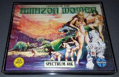 Legend Of The Amazon Women: CONDITION:- GREAT COMPATIBILITY:- ZX SPECTRUM 48K / 128K RANGE FORMAT:- CASSETTE CASE/BOX TYPE:- DOUBLE… Spectrum, Computers, Software, Range, Electronics, Type, Retro, Amazon, Box