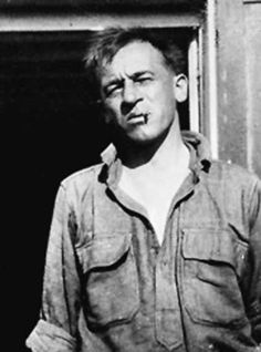Blaise Cendrars -  Swiss-born novelist and poet who became a naturalized French citizen in 1916. He was a writer of considerable influence in the European modernist movement.