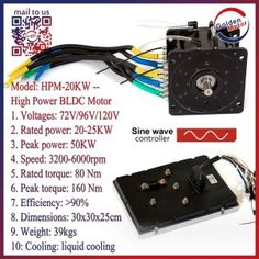 10kw Brushless DC Motor for Electric Cars - China 10kw Motor, 10kw Bldc Motor | Made-in-China.com Mobile