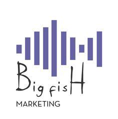 #Logo numero 21, Big #Fish. Il tema è sempre quello della comunicazione e del #marketing, che viene richiamato dal grafico della crescita che disegna il #pesce. #onelogoaweek #graphic #design #graphicdesign #impiastroviola  https://www.instagram.com/p/Bb1v-crhm9s/?taken-by=impiastroviola