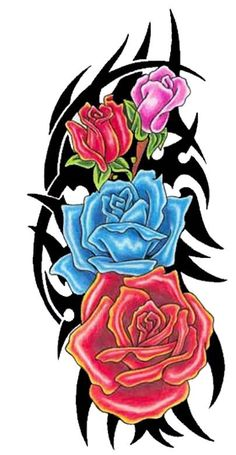 Cross Tattoos For Guys - Originals Hard To Find Today climbing rose tattoo designs Rose Drawing Tattoo, 1 Tattoo, Tatoo Art, Back Tattoo, Tribal Rose Tattoos, Tattoos Skull, Cross Tattoos, Tattoo Designs For Girls, Flower Tattoo Designs