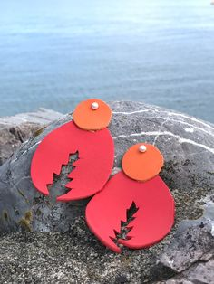 The product Lobster leather earrings is sold by Crea-tiff bijoux in our Tictail store.  Tictail lets you create a beautiful online store for free - tictail.com