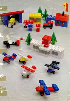 Books - Building Ideas Book [Lego 222] tons of building  plans