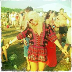 Tapping into my Bonnaroo hippie roots = pure love