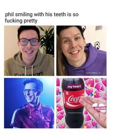 Phil generally is really pretty but you're absolutely right Dan And Phil Fanart, Phan Is Real, Amazingphil, Danisnotonfire, Dan And Phill, Phil 3, Tyler Oakley, Phil Lester, British Men