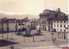 Plaza-de-Mariana-Pineda-Granada-antigua