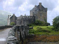 """pagewoman: """" Eilean Donan Castle, Dornie, Kyle of Lochalsh, Scottish Highlands """""""