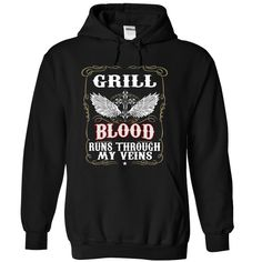 (Top Tshirt Charts) Blood001 GRILL Shirts Today Hoodies, Funny Tee Shirts