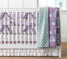 Brooklyn Quilt Nursery Set, Lavender