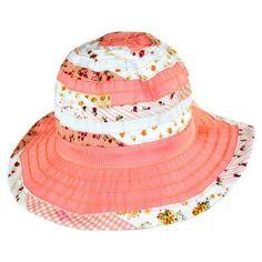 Children s Floral Ribbon Hat available at  VillageHatShop Floral Ribbon 1e335862c81