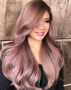 Colorful Dusty Lilac Hair – Pinious [dot] com Colorful Dusty Lilac Hair Dusty Rose Hair Color 86061 See Cabelo Rose Gold, Rose Gold Hair, Dusty Rose Hair Color, Dusty Pink Hair, Mauve Color, Side Bangs With Long Hair, Short Hair, Gold Hair Colors, Pastel Hair