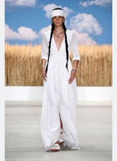 Wheatfield Embroidered Gown | Mara Hoffman | MAISONMAILLOT.COM