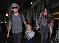 Peter Wentz and Son Bronx Wentz At LAX (Photos)