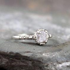 Raw cut diamond