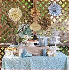 country chic baby shower by jessicaj