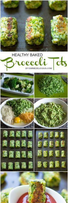 Baked Broccoli Tots Healthy Baked Broccoli Tots are the perfect low-fat snack!Healthy Baked Broccoli Tots are the perfect low-fat snack! Healthy Vegan Snacks, Healthy Baking, Healthy Low Calorie Snacks, Low Calorie Vegan, Healthy Homemade Snacks, Low Carb, Keto Snacks, Baby Food Recipes, Diet Recipes