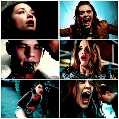 Pain and Lydia's reaction