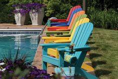 Find your true colors at www.wisheks.com (Check out our selection of POLYWOOD Inc outdoor furniture)