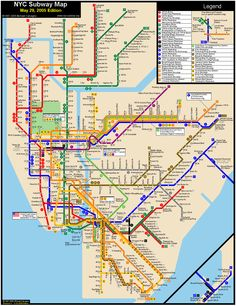 Printable Map of Manhattan   The International House is just to the ...