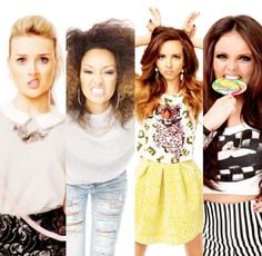 Little Mix, they're such a lively adorable bunch!