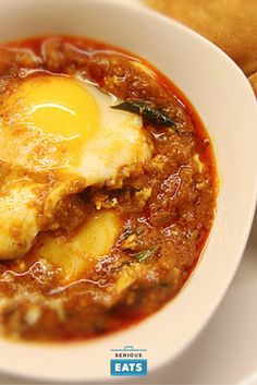 A Kerala style gravy is one of the more dramatic avatars the egg can take. It's a dish full of bold flavors and interesting textures that makes for a quick dinner or lunch.