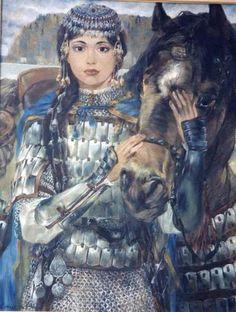 Turkish Oguz Woman