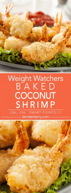 Weight Watchers Baked Coconut Shrimp Recipe - 11 Smart Points 256 Calories
