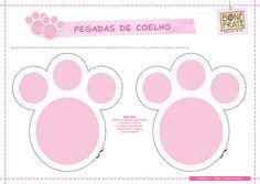 Pegada de Coelho para imprimir (PAP com molde) | Flickr – Compartilhamento de fotos!