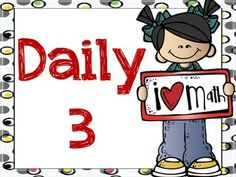 Math Signs for using Daily 3 or Daily 5  in your classroom Options Include: Math by MyselfMath with SomeoneMath WritingMath with TechnologyMath with Teacher