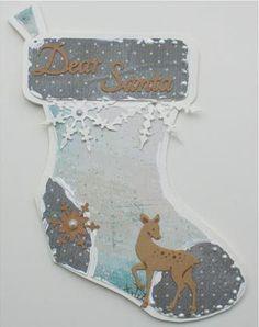 470.713.603 Card Art Stockings | Dutch Doobadoo | Noor & Zo